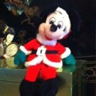 Vintage Mickey Mouse in Santa Claus Costume Plush Beanie $7.99