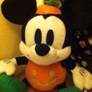 Sega Mickey Mouse Retro White Pumpkin Halloween Plush Stuffed Animal New w Tags $29.99