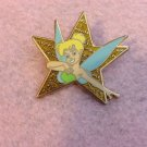 Authentic Walt Disney LE1000 Tinkerbell Gold Star 2007 Pin $19.99