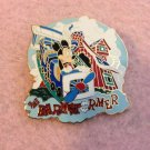 Authentic Walt Disney World Barnstormer Ride Attraction Mickey Mouse Pin $14.99