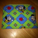 Handmade Pinocchio Coin Purse with Zipper