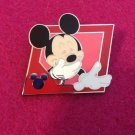 Authentic Walt Disney World 2013 Mickey Laughing Lanyard Trading Pin