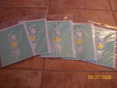 Duckie Greeting Cards Blank inside lot of 6 $6.99