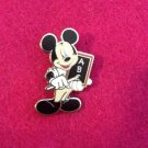 Walt Disney World Mickey Mouse Teacher ABC TRADING PIN