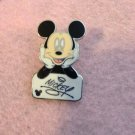 Authentic Disney World Mickey Mouse Name Pin 2006 Cast Lanyard 3 of 5