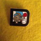 Authentic Jiminy Cricket D 40th Anniversary Pin
