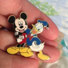 Walt Disney World Authentic Mickey Mouse and Donald Friends Pin