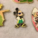 Authentic Disney Mickey Mouse hang loose summer swimsuit sunglasses Pin