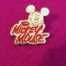 Authentic Disney Mickey Mouse Goldtone 2004 Signature Pin