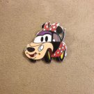 Authentic Walt Disney 2013 Cars dressed like Minnie Mouse Costume Pin