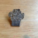 Disney Mickey Mouse Silvertone Popcorn Chaser Pin