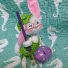 "New Annalee Mobilitee 6"" Artist Bunny with Paint Brush & Hat  $24.99"