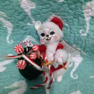 "New Annalee Mobilitee 6"" Mr. Santa Mouse Candy Canes & Peppermints 2005 $34.99"