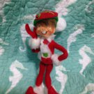 "New Annalee Mobilitee 9"" Red Corduroy Elf 2011 $24.99"