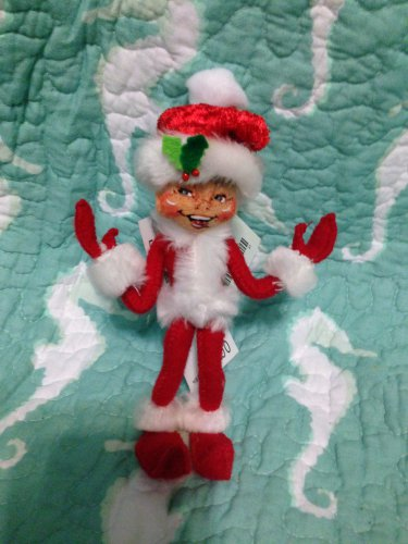 "New Annalee Mobilitee 5"" Red Cozy Christmas Elf 2012 $14.99"