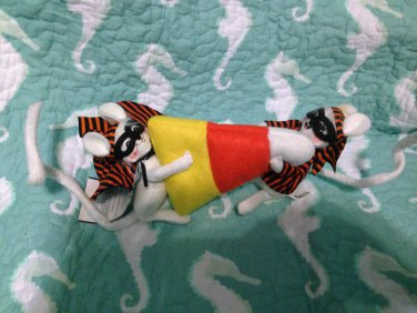 """New Annalee Mobilitee 5"""" Candy Corn Masked Bandits 2 Mice 2009 $24.99"""