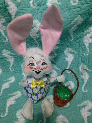"""Annalee Mobilitee New 12"""" Easter Bunny Boy 2010 $38.99"""
