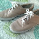Tan Canvas Keds Size 8 Barely Pre-Owned Athletic Tennis Shoes Sneakers