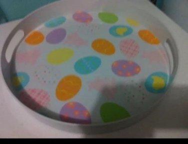 """15"""" Easter Egg plastic tray $5.00"""