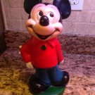 "12"" Vintage Mickey Mouse Disney PVC Bank $9.95"