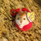 "Alvin and The Chipmunks TY Beanie Ballz Plush Stuffed Animal Keytag Toy 3"" $2.99"