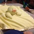 Soft Chenille Velor Baby Blanket Little Ducky $24.99