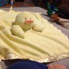 Soft Chenille Velor Baby Blanket Little Ducky $24.99