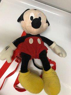 """Mickey Mouse Plush Stulffrd Animal Backpack $12.0"""""""