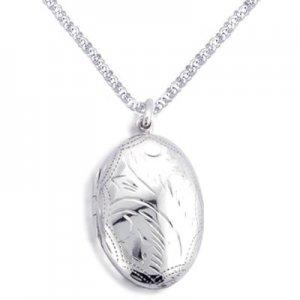Trendy Sterling Silver Locket