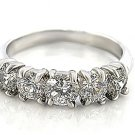 Clear Multi CZ Engagement Ring, Size Q(8)