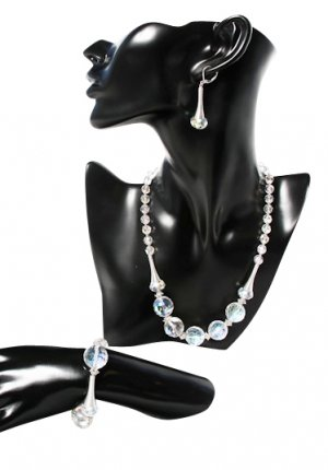 Crystal Clear Desire Jewellery Set