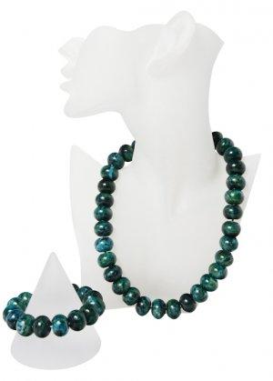 Phoenix Rounded Semi-Precious Gemstone Beaded Jewellery Set