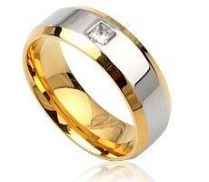 Men's Engagement/Wedding Ring Band Size 11(W)