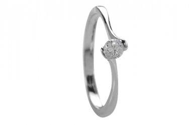 Simply Elegant CZ Ring Size 7(O)
