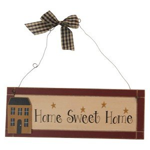 Wooden Plaque Home Sweet Home