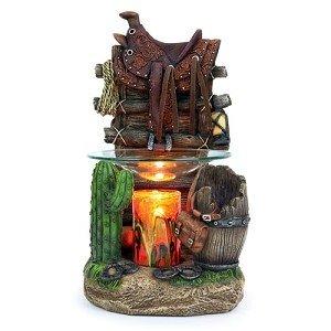 Horse Saddle Oil Warmer