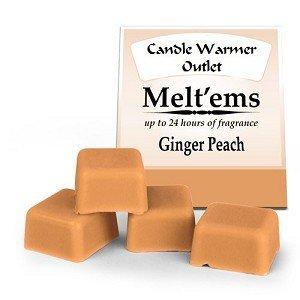 Ginger Peach Scented Wax Tart
