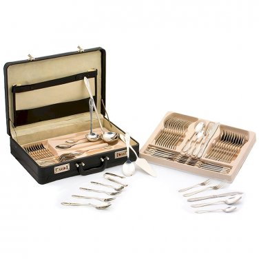 72pc Stainless Steel Flatware Set