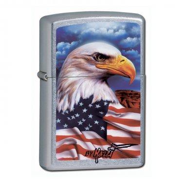 "Personalized Mazzi ""Freedom"" Zippo Lighter"