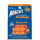 Mack's Moldable Silicone Earplugs Ear Plugs Kid Size 6 Pair Orange
