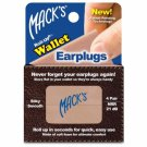 Mack's Roll-ups Wallet Plugs 4 Pair Beige Soft Foam Snore Loud Noise