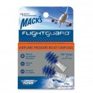 Mack's Flightguard Airplane Earplugs Ear Plugs Pressure Relief