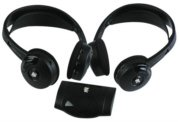 One Pair Wireless Infrared Stereo Headphones w/Transmitter