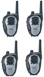 "Jensen JCS-800 14 Channel FRS ""Communicator"" - Up to 2 Mile Range (4pack)"