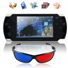 "4.3"" Touch Screen Portable Personal Game Console with 3D Glass Flash 7.0,GB,GBA,SFC,FC,NEC,BIN,etc."