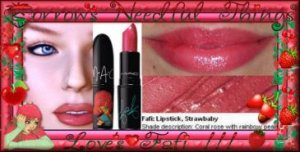 MAC Cosmetics Lustre Lipstick ~ Strawbaby ~ Limited Edition ~ Fafi For MAC Collection