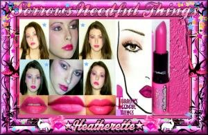 MAC Cosmetics Satin Lipstick ~ Hollywood Nights ~ Limited Edition ~ Heatherette Collection