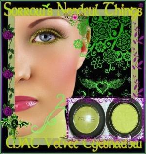 MAC Frost Eye Shadow ~ Eyepopping ~  Limited Edition ~ C-Shock
