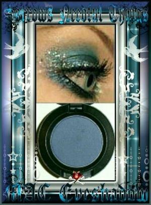 MAC Matte² Eye Shadow ~ Prussian