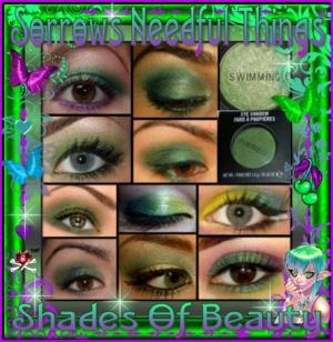 MAC Lustre Eye Shadow ~ Swimming